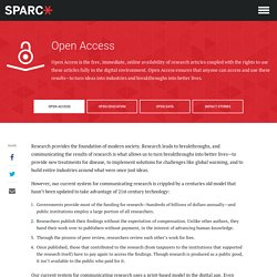 Open Access - SPARC