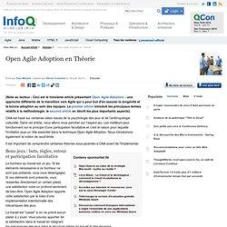 Open Agile Adoption en Théorie