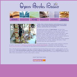 Open Books Radio