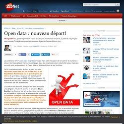 Open data : nouveau départ! - ZDNet