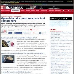Open data : dix questions pour tout comprendre