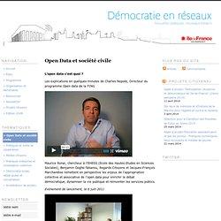 Open Data et société civile