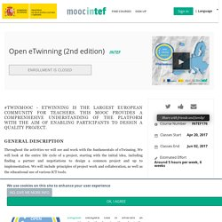 Open eTwinning (2nd edition)