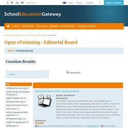 Open eTwinning - Editorial Board