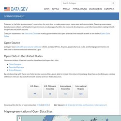 Open Data Sites