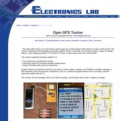 Open GPS Tracker