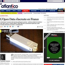 L'Open Data s'incruste en France