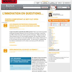 L'Innovation en questions