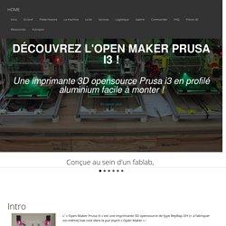 Open Maker Prusa i3