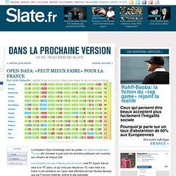 Open Data: «peut mieux faire» pour la France