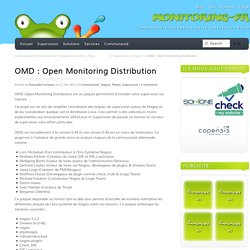 OMD : Open Monitoring Distribution