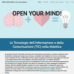 OPEN YOUR MIND! Le TIC nella didattica inclusiva