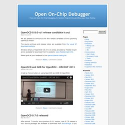 Open On-Chip Debugger - Vimperator