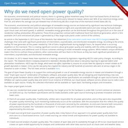 Open Power Quality