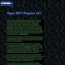 Quantum physics 101