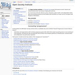 Open Society Institute - KeyWiki
