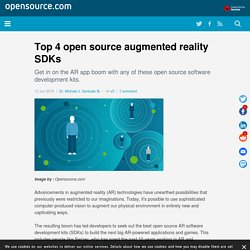 Top 4 open source augmented reality SDKs