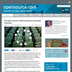How open source companies can make money