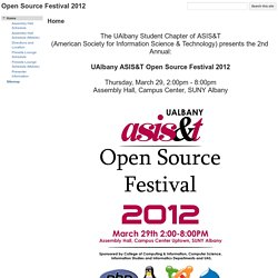Open Source Festival 2012