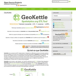 Open Source GeoBI » GeoKettle