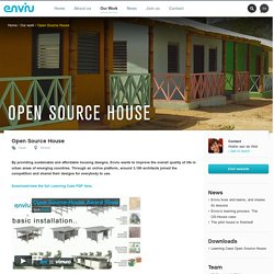 Open Source Maison - Enviu