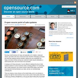 8 open source point of sale systems