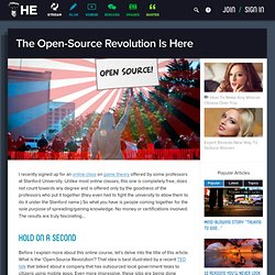 The Open-Source Revolution Is Here