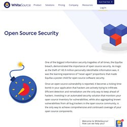 Open Source Security - Find, Fix and Automate