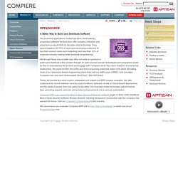 Open Source ERP Software from Compiere