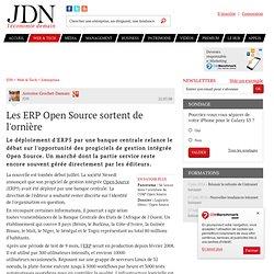 Les ERP Open Source sortent de l'ornière - Analyse sur Journal d