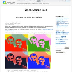 Open Source Talk » enterprise2.0