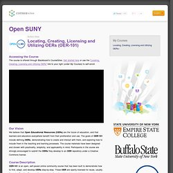 Open SUNY : Instructor Home Page