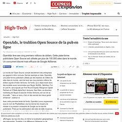 OpenAds, le trublion Open Source de la pub en ligne