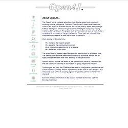 OpenAi - - about us
