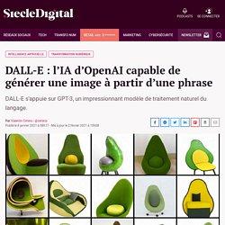 DALL-E : l'IA d'OpenAI capable de générer une image à partir d'une phrase