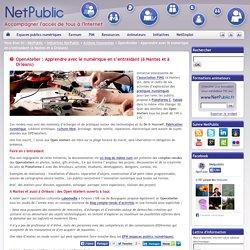 OpenAtelier : Apprendre avec le numérique en s'entraidant (à Nantes et à Orléans)