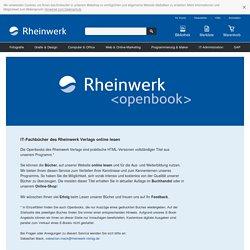 Openbooks des Rheinwerk Verlags
