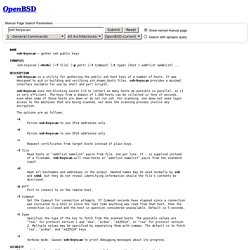 OpenBSD manual pages