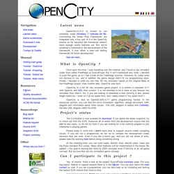 OpenCity, another 3D city simulator