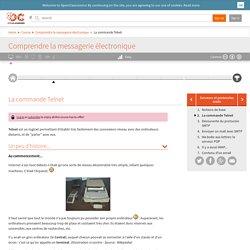 OpenClassrooms - La commande Telnet
