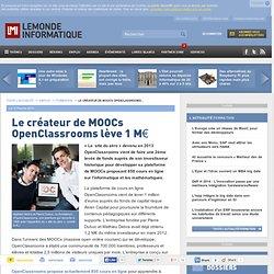 Le créateur de MOOCs OpenClassrooms lève 1 M€