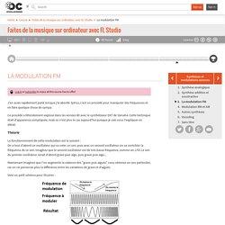 OpenClassrooms - La modulation FM