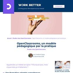 Quelle méthode chez OpenClassrooms ? La pédagogie par la pratique
