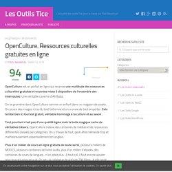 OpenCulture. Ressources culturelles gratuites en ligne – Les Outils Tice