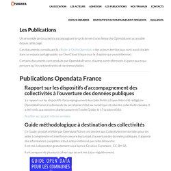 OpenData France » Les Publications