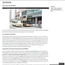 OpenData & Mobilité « QNTNKSR