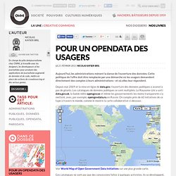 Pour un opendata des usagers » Article » OWNI, Digital Journalism