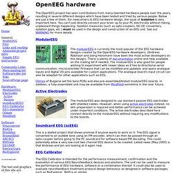 OpenEEG hardware