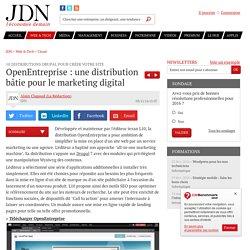 OpenEntreprise : une distribution bâtie pour le marketing digital : 10 distributions Drupal pour créer votre site