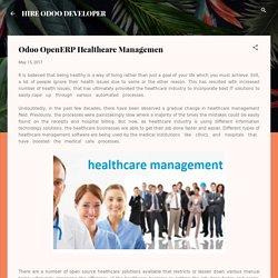 Odoo OpenERP Healthcare Managemen